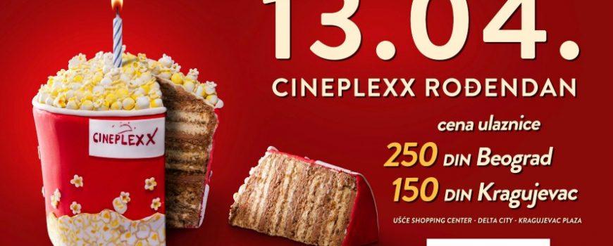 Veliko rođendansko slavlje bioskopa Cineplexx
