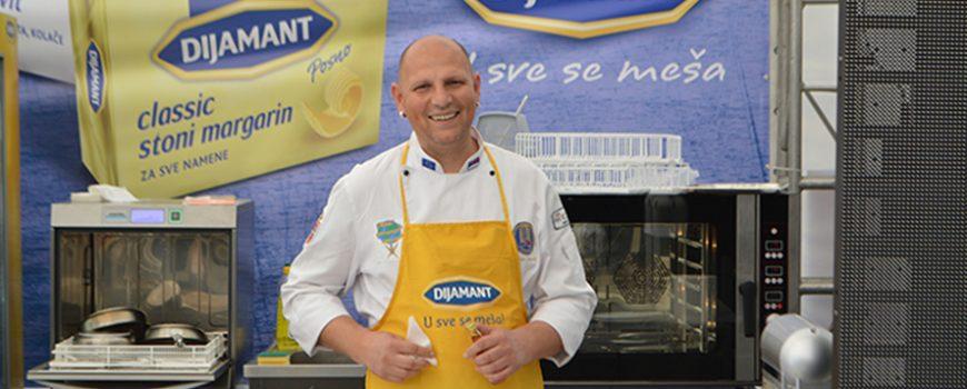 """Dijamant margarini – počasni sastojci na festivalu """"I Love my Candy"""""""