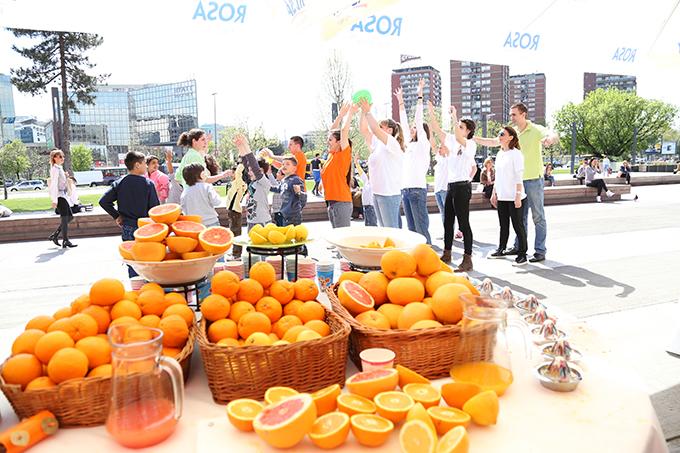 IMG 2441 Hyatt Regency Beograd i Ušće Shopping centar zajedno sa kompanijom Nestle obeležili su Međunarodni Dan planete Zemlje