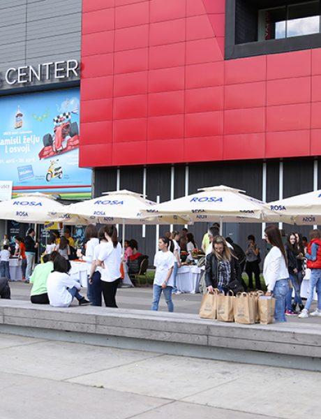 Hyatt Regency Beograd i Ušće Shopping centar zajedno sa kompanijom Nestle obeležili su Međunarodni Dan planete Zemlje