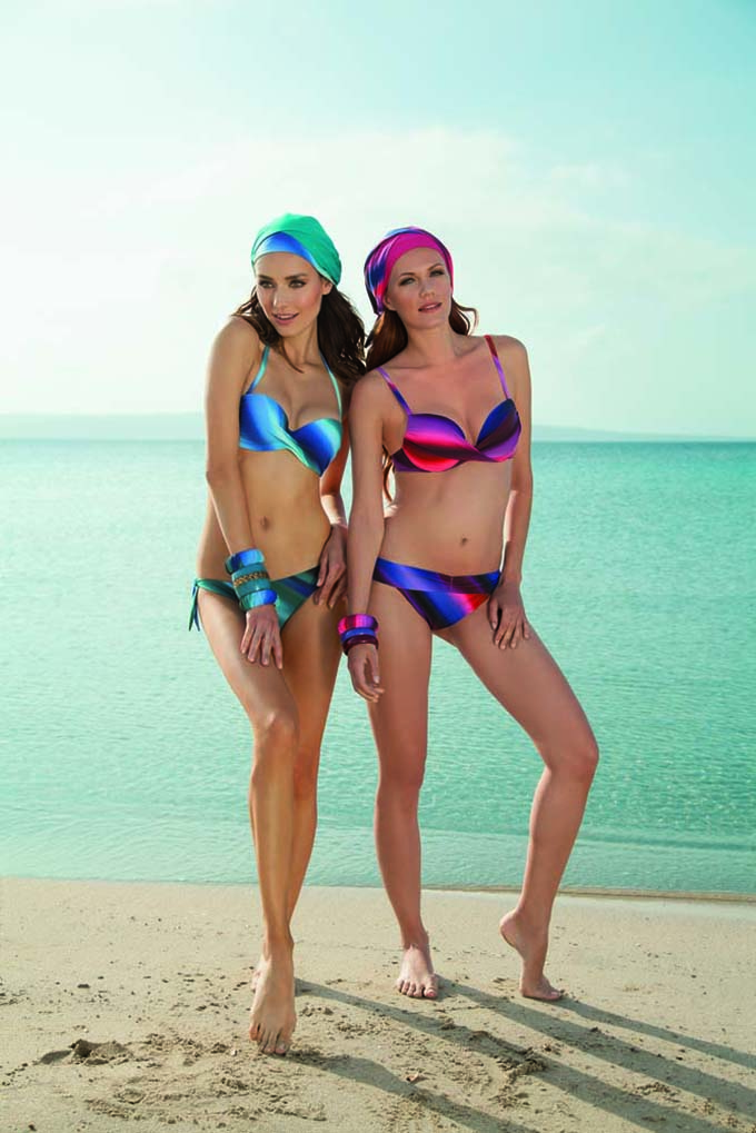 Lisca Galapagos LISCA kupaći kostimi za 2015: Letnje bogatstvo boja i elegancija