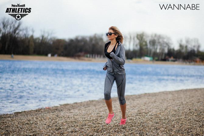 New Yorker fashion predlog Like a Blondie Wannabe magazine 1 NEW YORKER Athletics modni predlog: Vreme je za trening!