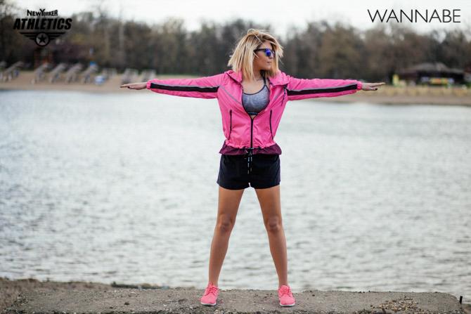New Yorker fashion predlog Like a Blondie Wannabe magazine 10 NEW YORKER Athletics modni predlog: Udobno na treningu