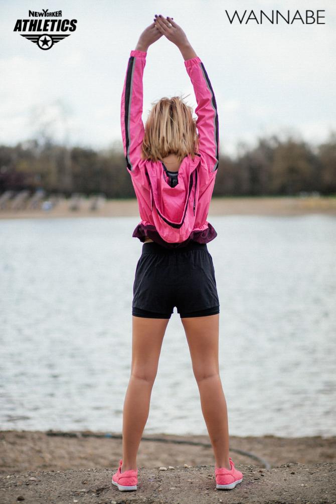 New Yorker fashion predlog Like a Blondie Wannabe magazine 12 NEW YORKER Athletics modni predlog: Udobno na treningu