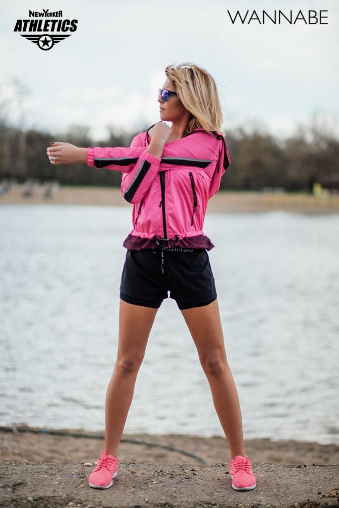 New Yorker fashion predlog Like a Blondie Wannabe magazine 13 NEW YORKER Athletics modni predlog: Udobno na treningu