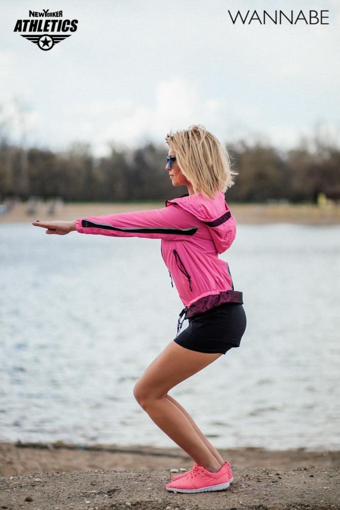 New Yorker fashion predlog Like a Blondie Wannabe magazine 14 NEW YORKER Athletics modni predlog: Udobno na treningu