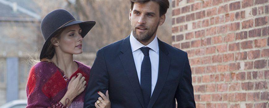 Olivija Palermo i Johanes Huebl nose Tommy Hilfiger u Njujorku