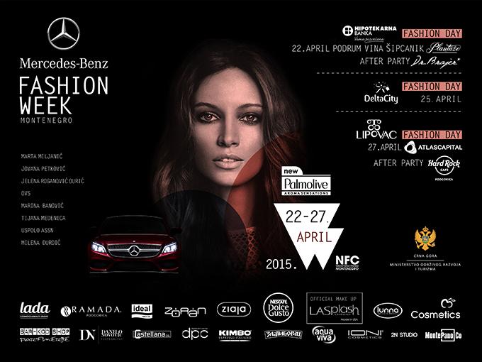 POSTER MBFW 17 FINAL Dođite na Mercedes Benz Fashion Week Montenegro