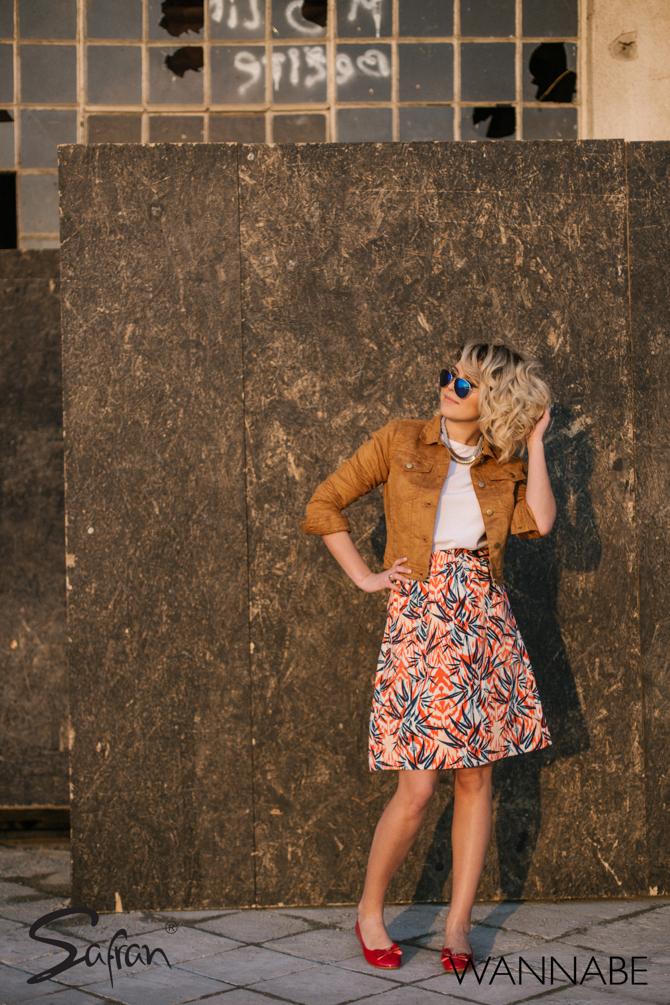 Safran fashion predlog Katarina Veljkovic Wannabe 43 Safran modni predlog: Budi gradska Doroti