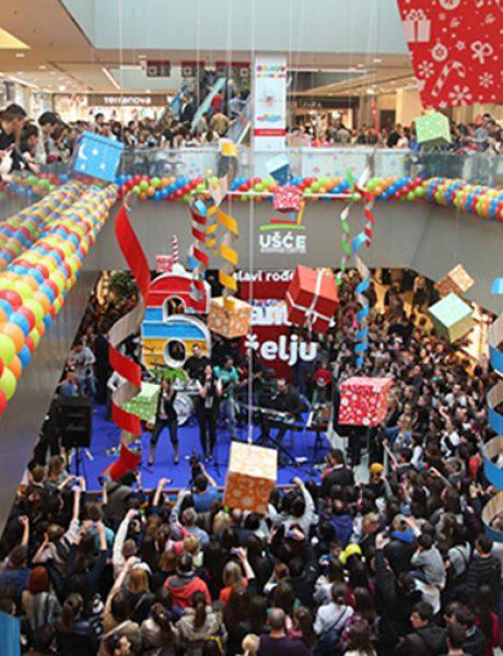 Svečano zatvaranje rođendanskog meseca Ušće Shopping centra