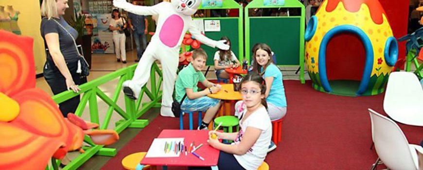 Uskršnje radosti za decu u Ušće Shopping Centru