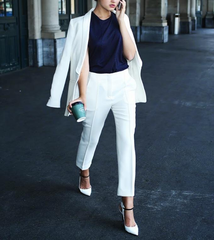 beli komplet 4 Vodič kroz poslovni stil: Kako da nosite beli komplet