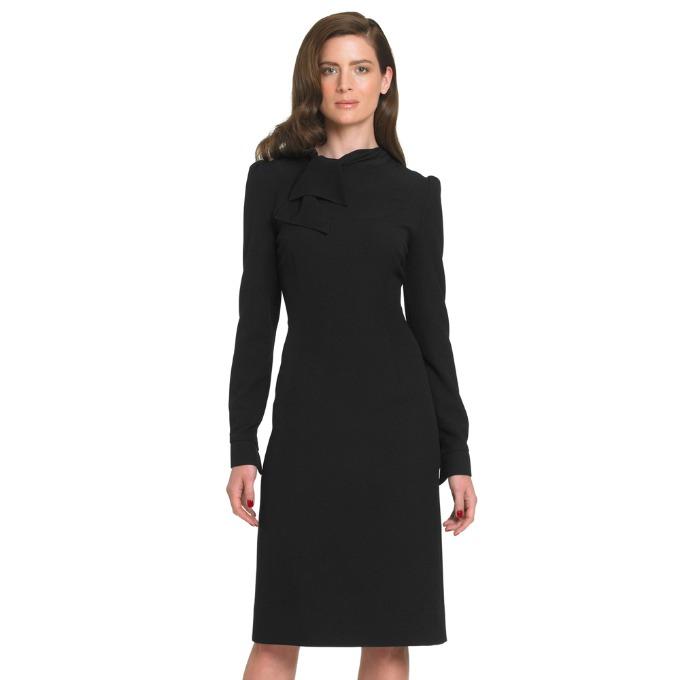 crna haljina Vodič kroz poslovni stil: Haljine
