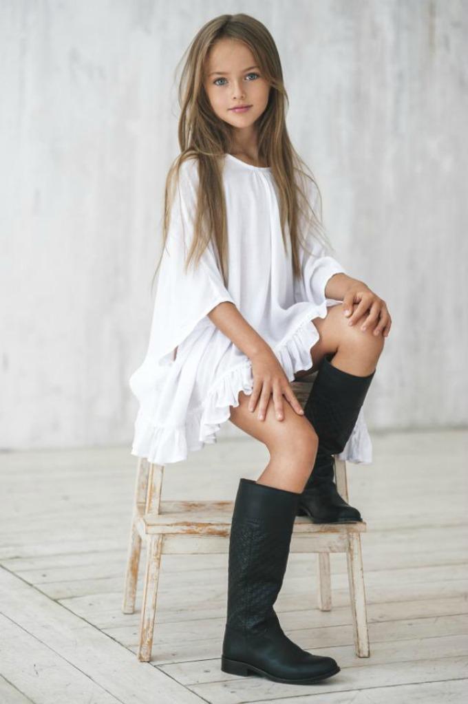 devojcica model Ona je najlepša devojčica na svetu