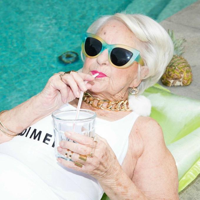 dimepiece 3 Zaštitno lice jedne modne kampanje je 86 godišnja baka