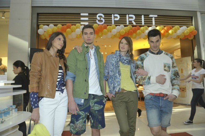 esprit revija Esprit i Sportina sinoć na Black n Easy Fashion Week