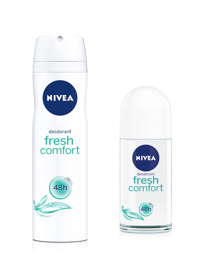 fresh comfort nivea Svežina inspiriše na različite načine: Koje mirisne note vas pokreću?