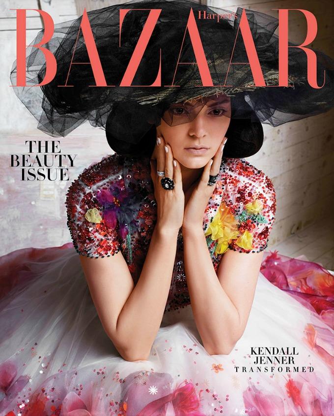 kendal dzener 1 Kendal Džener prvi put na naslovnici magazina Harpers Bazaar