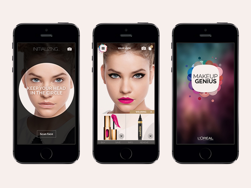 loreal make up genius Makeup Genius: Isprobaj različite stilove šminkanja