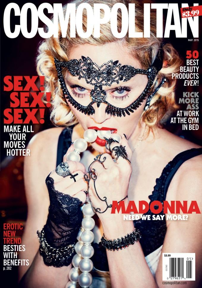 madona cosmopolitan 1 Madona krasi naslovnicu magazina Cosmopolitan nakon 25 godina