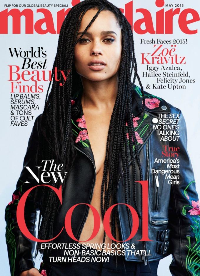 naslovnica marie claire 3 Pet zanosnih lepotica na naslovnici magazina Marie Claire