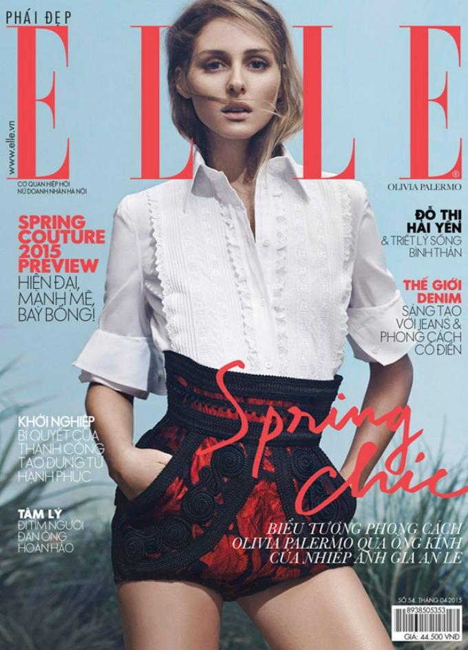 olivija palermo 1 Prelepa Olivija Palermo na naslovnici magazina Elle Vietnam