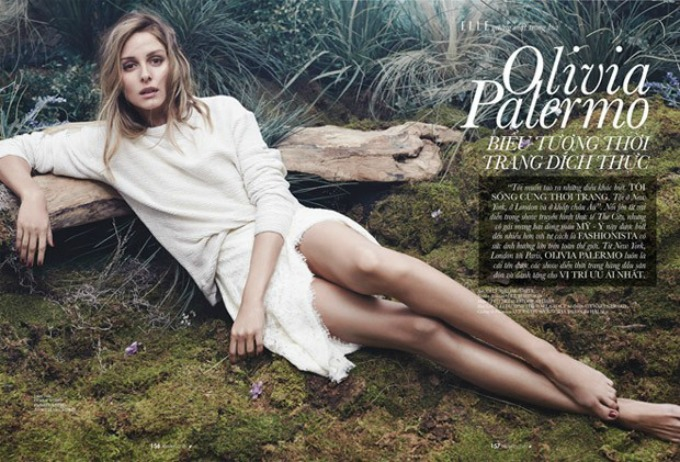olivija palermo 2 Prelepa Olivija Palermo na naslovnici magazina Elle Vietnam