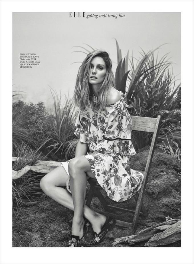 olivija palermo 4 Prelepa Olivija Palermo na naslovnici magazina Elle Vietnam