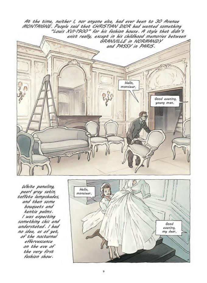 prvi strip modne kuce dior 1 Prvi strip modne kuće Dior