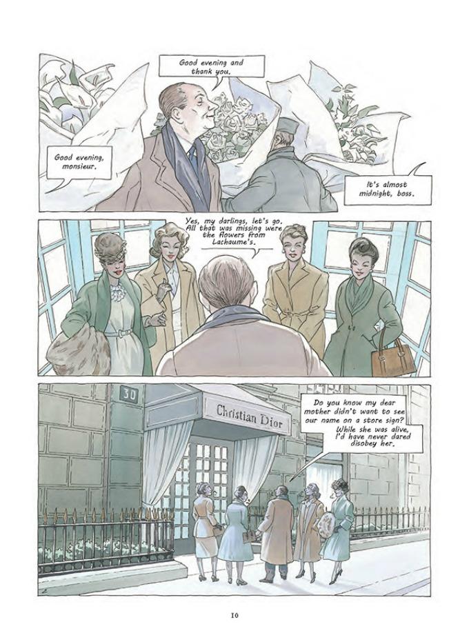 prvi strip modne kuce dior 2 Prvi strip modne kuće Dior