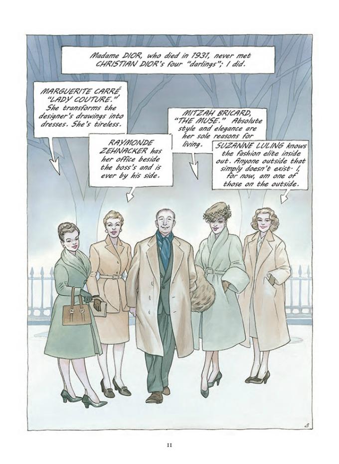 prvi strip modne kuce dior 3 Prvi strip modne kuće Dior