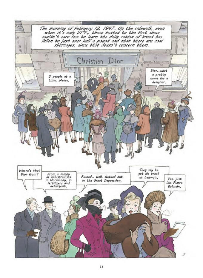 prvi strip modne kuce dior 5 Prvi strip modne kuće Dior