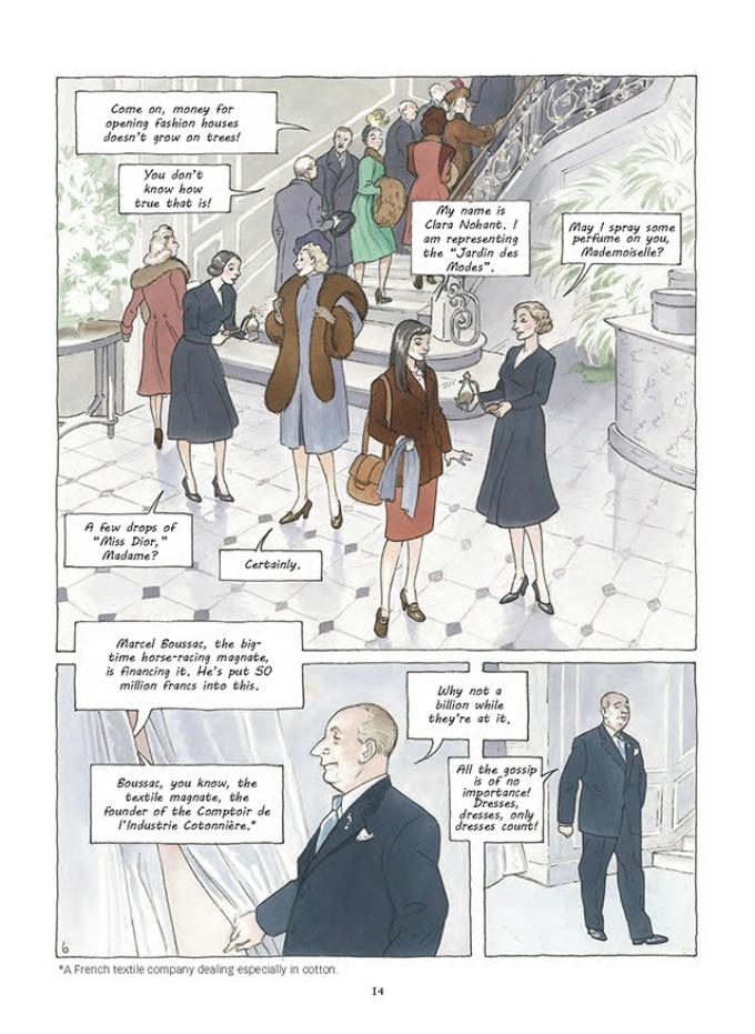 prvi strip modne kuce dior 6 Prvi strip modne kuće Dior