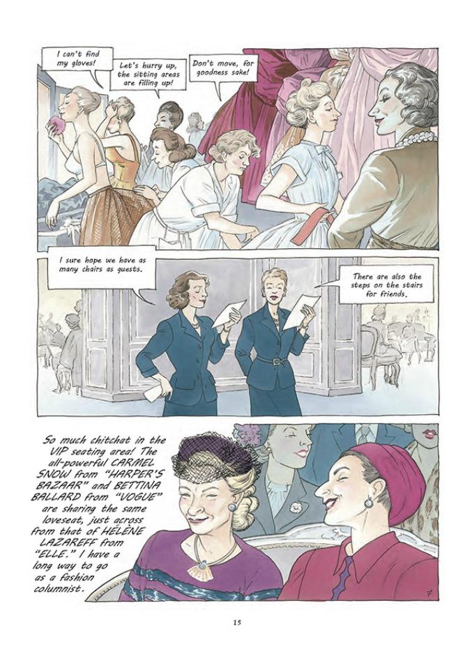 prvi strip modne kuce dior 7 Prvi strip modne kuće Dior