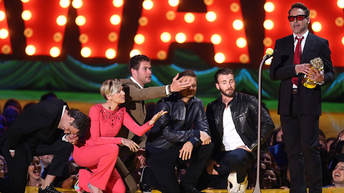 robert Dauni džunior mtv MTV Movie Awards 2015: Ko su dobitnici?