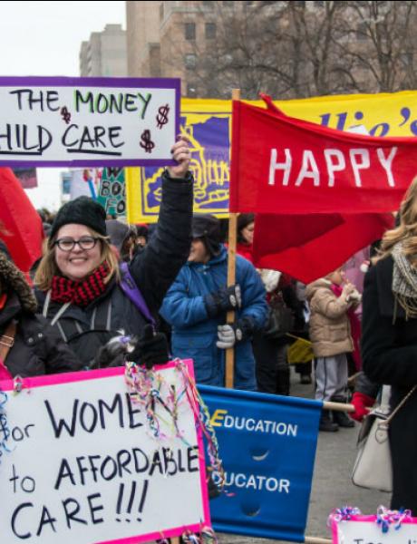 Žene bi trebale da budu plaćene za brigu o deci
