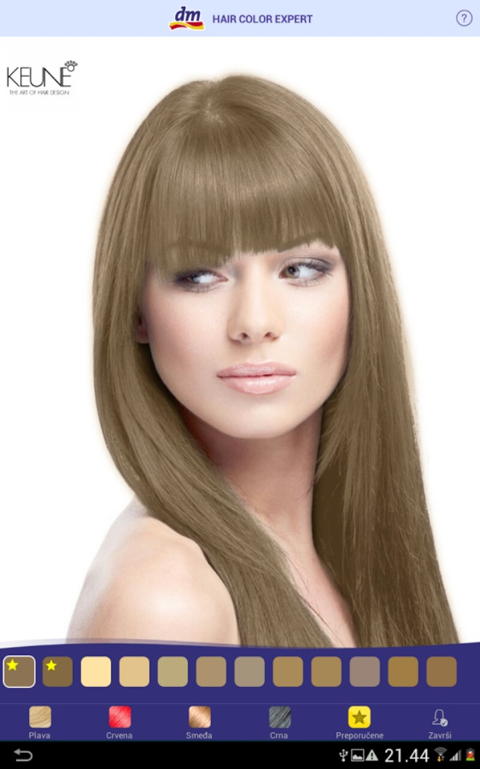 smeđa kosa1 Saznaj koja boja kose ti najbolje stoji