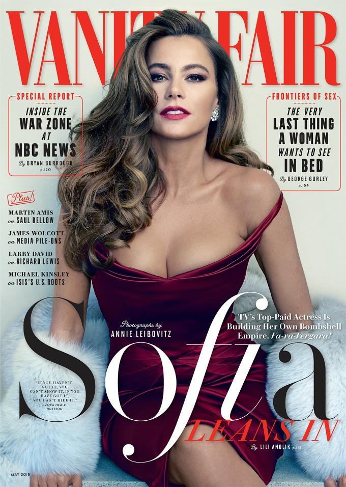 sofija vergara 1 Zanosna Sofija Vergara na naslovnici magazina Vanity Fair