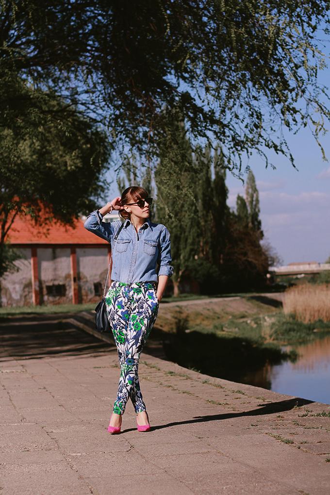 teksas kosulja jovana bovan Modne blogerke predlažu: Must Have komadi za proleće