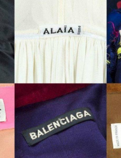 Visoka moda po prvi put na aukciji