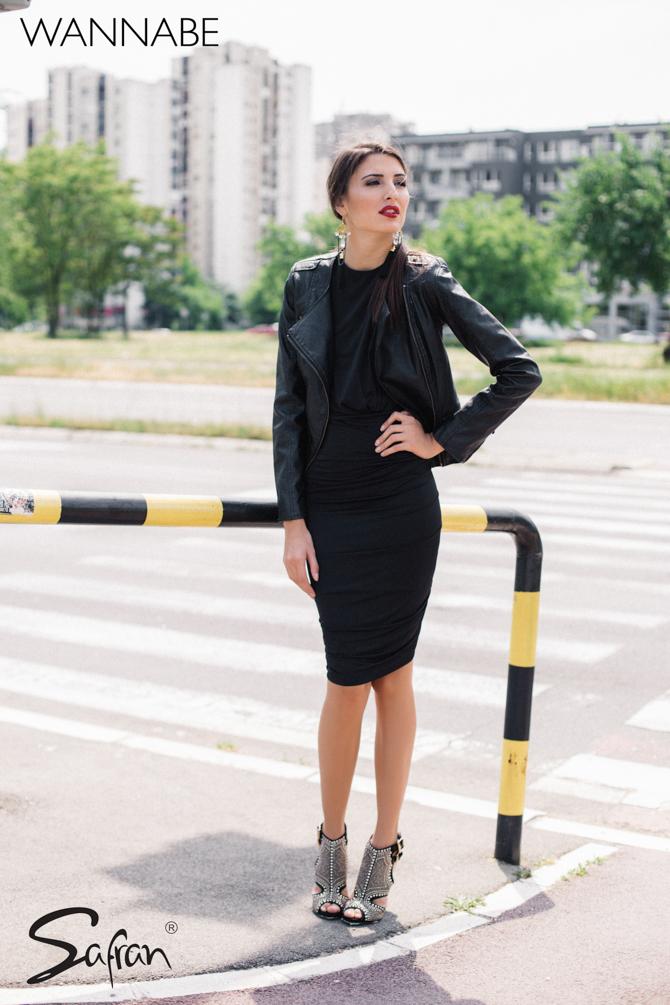 1 Modni predlog Safran Wannabe magazine Safran modni predlog: Za letnju noć u klubu