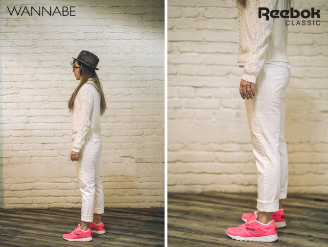 3 kolaz Reebok Classic modni predlog: Osvoji grad u pink patikama