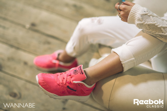 5 Rebook DJ Prema Unja Green Wannabemagazine 39 Reebok Classic modni predlog: Osvoji grad u pink patikama