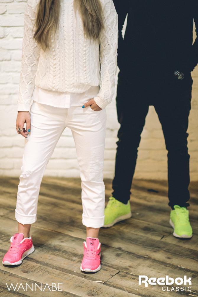 6 Rebook DJ Prema Unja Green Wannabemagazine 25 Reebok Classic modni predlog: Osvoji grad u pink patikama
