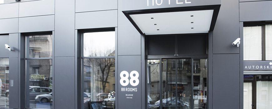 88 Rooms Hotel dobio sertifikat za izvrsnost za 2015. godinu koji dodeljuje sajt Tripadvisor