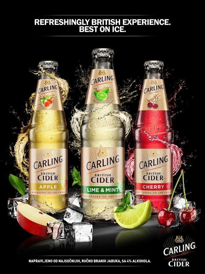 Carling Cider photo1 Carling British Cider: Probaj novo osvežavajuće iskustvo