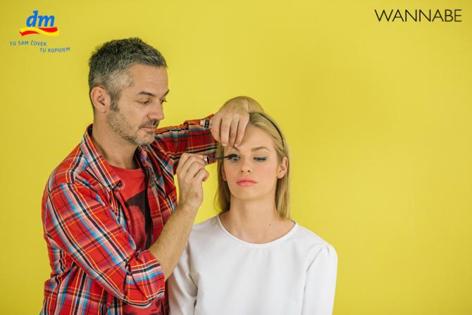 "DM make up tutorijal Aleksandra Djikic Wannabe magazine 12 dm look ""Beach Party"" tutorijal: Šminka"