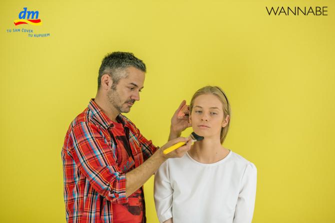"DM make up tutorijal Aleksandra Djikic Wannabe magazine 4 dm look ""Beach Party"" tutorijal: Šminka"