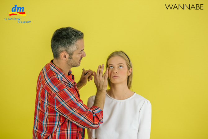 "DM make up tutorijal Aleksandra Djikic Wannabe magazine 5 dm look ""Beach Party"" tutorijal: Šminka"