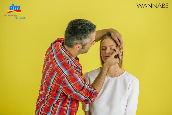 "DM make up tutorijal Aleksandra Djikic Wannabe magazine 6 dm look ""Beach Party"" tutorijal: Šminka"